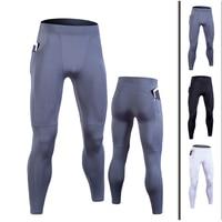 Pantalones de compresión para hombre, mallas deportivas con bolsillo para correr, gimnasio, correr, ropa deportiva, 2020