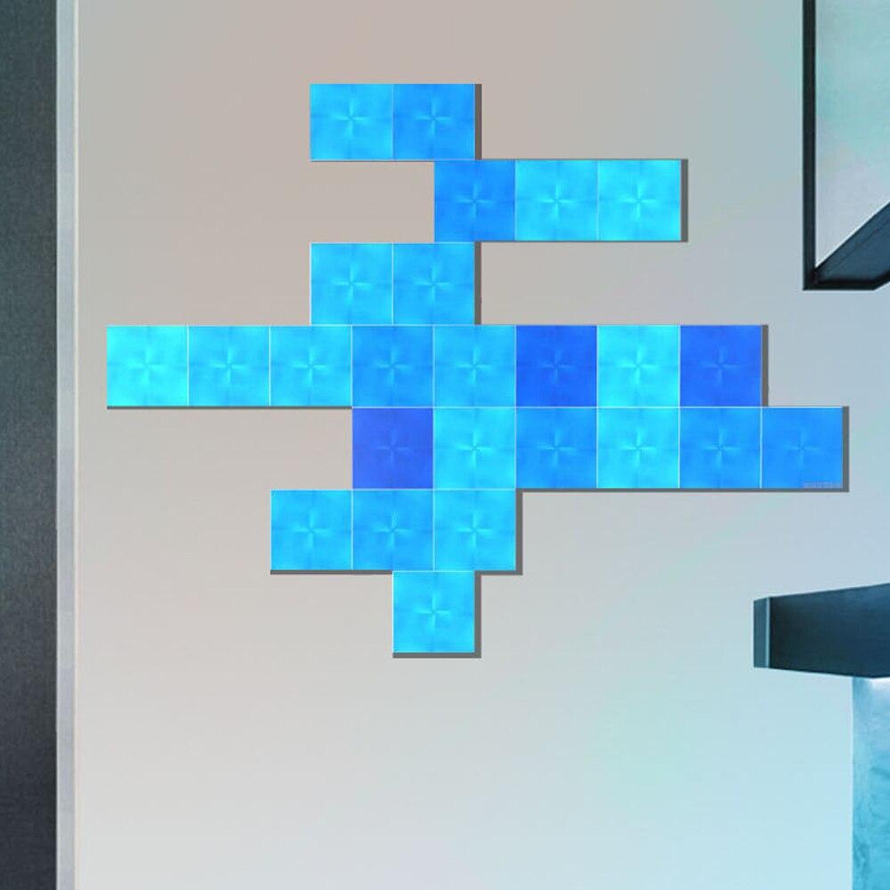 Nanoleaf carré veilleuse couleur intelligente panneau lumineux impair travail avec Mijia pour Apple Homekit Google Home réglage personnalisé