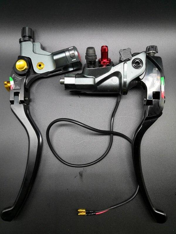 CNC 19 RCS мотоцикл главный тормозной цилиндр кабель сцепления радиальный тормозной насос 22 мм Универсальный для Honda Yamaha Kawasaki Suzuki