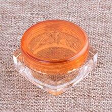 100pcs Small Plastic Packaging Plastic Jar Cosmetic 3g/5g Storage Box Cream Lip Cosmetic Jar Pots Cosmetic Balm Container Jar