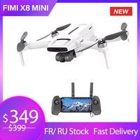 FIMI-Mini Dron X8 con cámara, transmisión de 8km, 4K, profesional, X8SE, cuadricóptero con Helicóptero De Control Remoto GPS