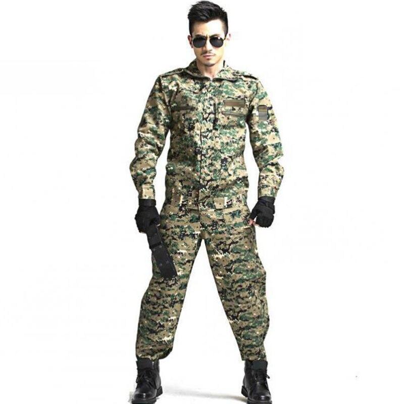 Пейнтбольная тактическая камуфляжная военная форма Камуфляжный боевой костюм военная одежда для охотника и рыбалки рубашка и брюки