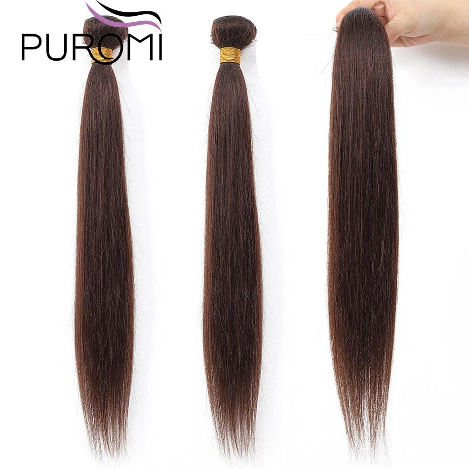 Cheveux raides paquets malaisiens cheveux armure faisceaux de cheveux humains vente en gros Remy cheveux #2/27 #/99J/613 100% cheveux humains - 5