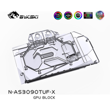 GPU Water-Block Bykski GAMING RTX3080 Copper-Block/backplate Asus Tuf O24G 3090 AURA