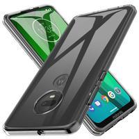 Funda de TPU suave transparente para Motorola Moto One Fusion Plus G8 G7 Power Lite E6 G6 Play G5S G5 G4 E4 E5 Plus, funda a prueba de golpes