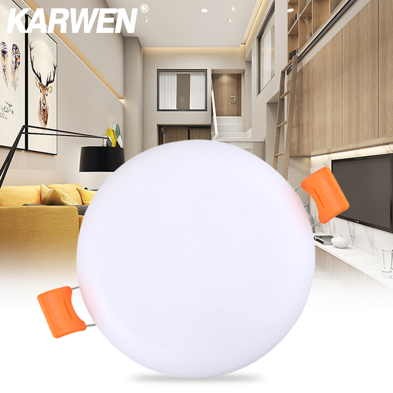 Energy Saving LED Circular Panel Light 10W 20W 25W 35W Led Ceiling Light AC 220V Lampada Led Lamp For Home Lighting