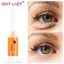 OMY LADY Instant Remove Eye bags Cream Anti Puffiness Gel Dark Circles Delays aging fades wrinkles Firming Brighten Skin Unisex