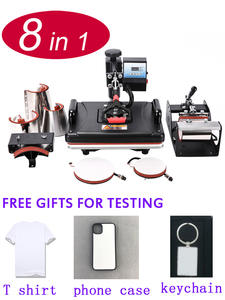 8-In-1 Heat-Press-Machine T-Shirt/bottle