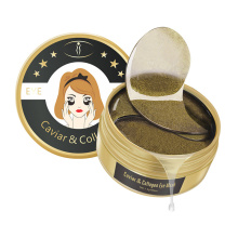24K Caviar Gel Eye Mask Hydrating Lighten Fine Lines Remove Eye Bags Anti-aging Eye Patches Eye Skin Care