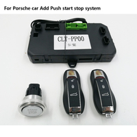 Porsche Cayenne/MACAN add 푸시 버튼 시작 스톱 시스템 원격 시작 및 PKE Keyless GO Entry original protocol