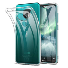 цена на Clear Case For Nokia 7.2 6.2 Soft TPU Transparent Case For Nokia 2.2 3.2 4.2 7.1 8.1 X7 X6 X3 X71 6.1 3.1 Plus Phone Back Cover