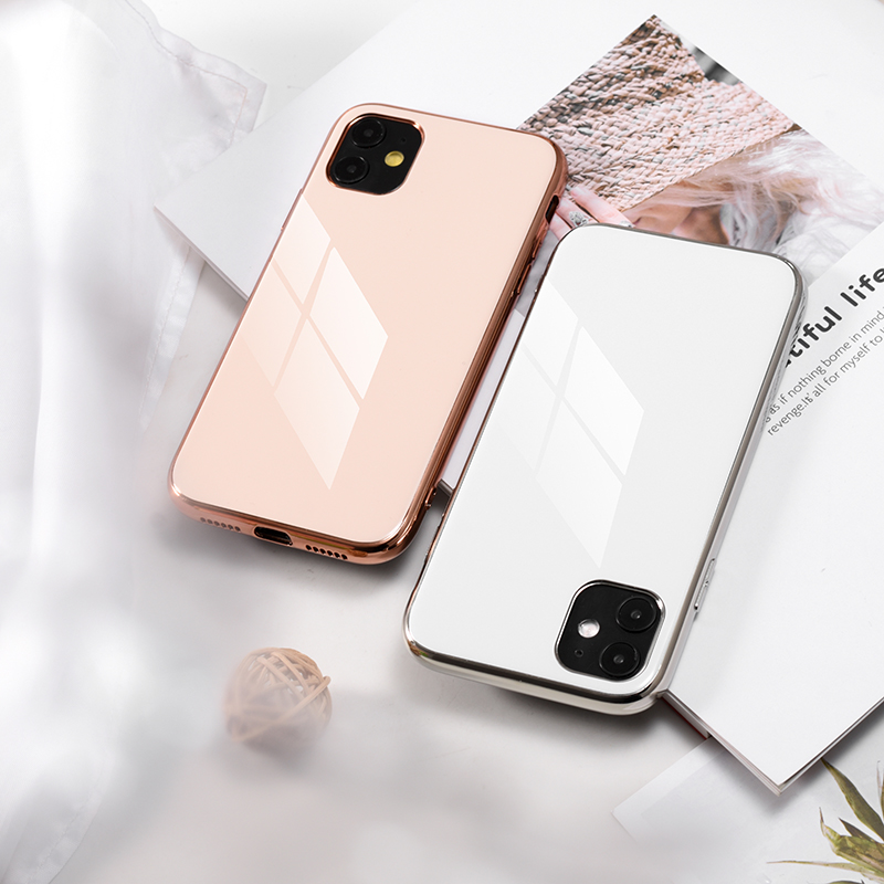 soft shell TPU Case Plating Cover For iPhone11 XS Max iPhone X Phone Case Luxury Hard Coque With Logo For phone 11 case 2