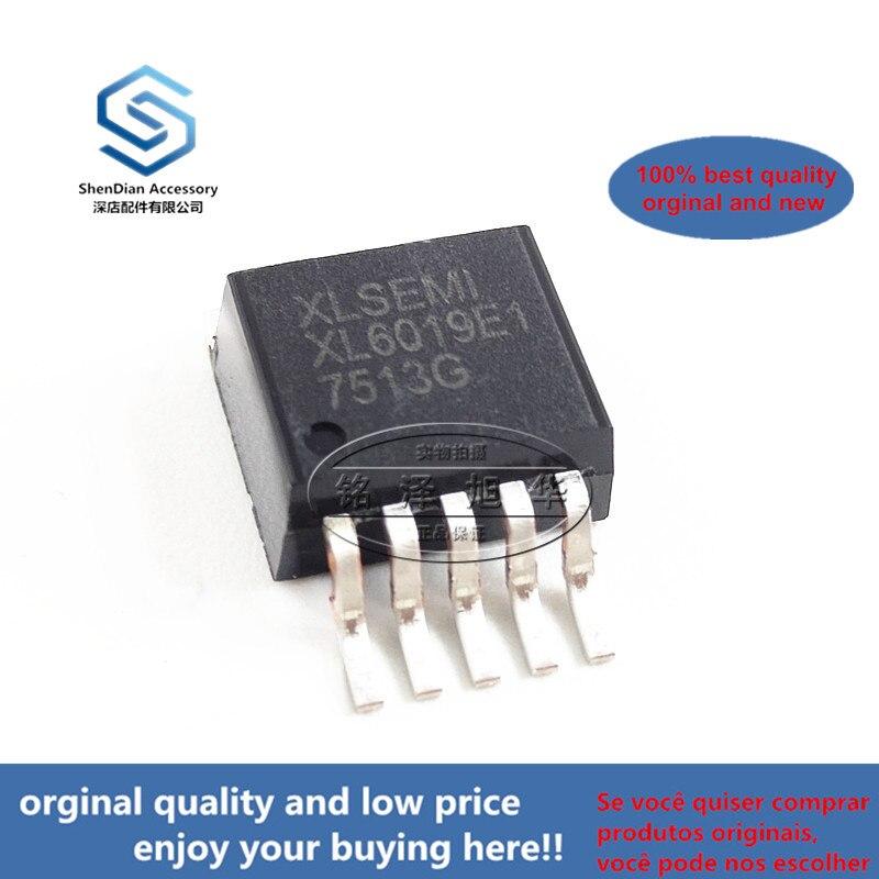 5pcs 100% Orginal New Best Qualtiy XL6019E1 XL6019  TO263-5L Boost Constant Current IC Chip  Real Photo