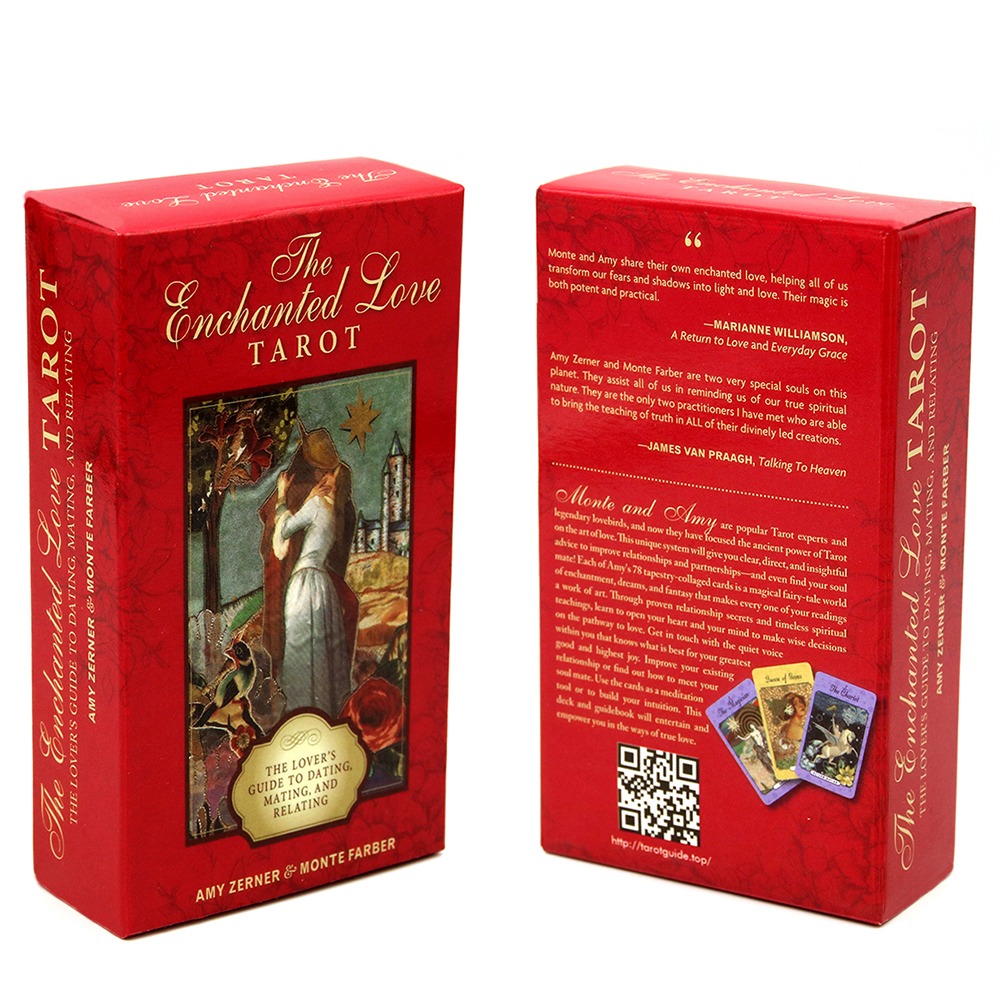 The Enchanted Love Tarot 78 Cards Deck The Lover's Guide To Dating Mating And Relating