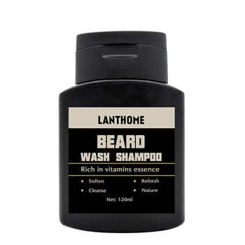 Lanthome Vitamin Wash Shampoo Hair Beard Care Men'S Gift Beard Assistance Machine Moisturiser Deep Cleansing Beard Beard Shampoo 1