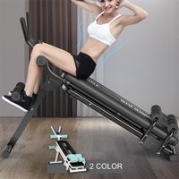 Folding 2 In 1 Fitness Tool Adjustable Abdominal Trainer Home Gym Integrated Fitness Equipments Body Building Lose Weight