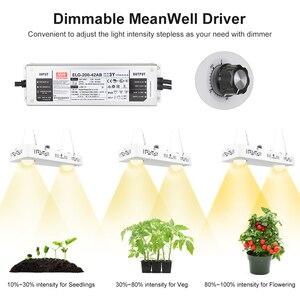 Image 3 - Dimmbare COB LED Wachsen Licht Gesamte Spektrum CREE CXB3590 100W 200W 400W 600W Wachsen Lampe für indoor Anlage Wachstum Panel Beleuchtung