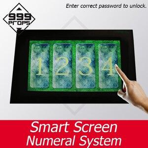 999 реквизит смарт-экран номер комбинации клавиатуры live escape room введите правильный пароль, чтобы разблокировать takagism поставщик игр