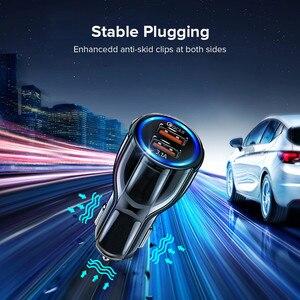 Image 4 - GETIHU 18W 3,1 EIN Auto Ladegerät Dual USB Schnelle Lade QC Telefon Ladegerät Adapter Für iPhone 12 11 Pro max 6 7 8 Xiaomi Redmi Huawei