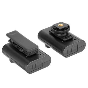 Image 4 - Boya BY WM4 Pro Wireless Studio Condenser Microphone Lavalier Lapel Interview Mic for Smartphone SLR camera
