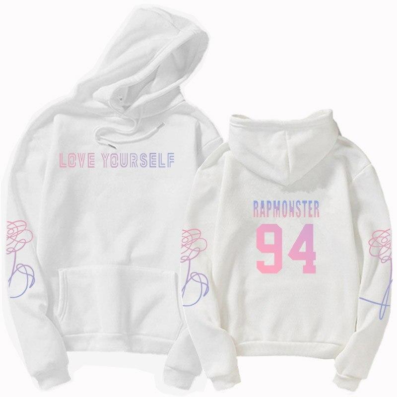 jungkook Unisex hoody kpop suga93 hoodies love KPOP weatshirt love yourself KPOP hoody sweatshirt  harajuku hoodies 20