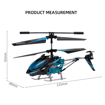 Wltoys XK S929-A RC Helicopter 2.4G 3.5CH with Led Light RC Helicopter Indoor Toys for Beginner Kids Children Blue Red Green 4