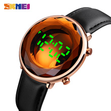 SKMEI Top Brand Luxury Male Clock Casual LED Light Men Wristwatches Sports Watches reloj Digital Montre homme 1640 Men's watches