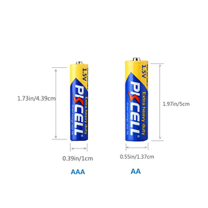 Image 4 - (40pc pack) PKCELL 20Pcs R03P 1.5V AAA Battery 20Pcs 1.5V AA Batteries R6P 2A/3A carbon Single Use Battery Thermometer battery