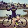 2020 feminino corrida frenesi pro equipe triathlon terno manga longa ciclismo skinsuit macacão correndo engrenagem maiô ropa ciclismo 9