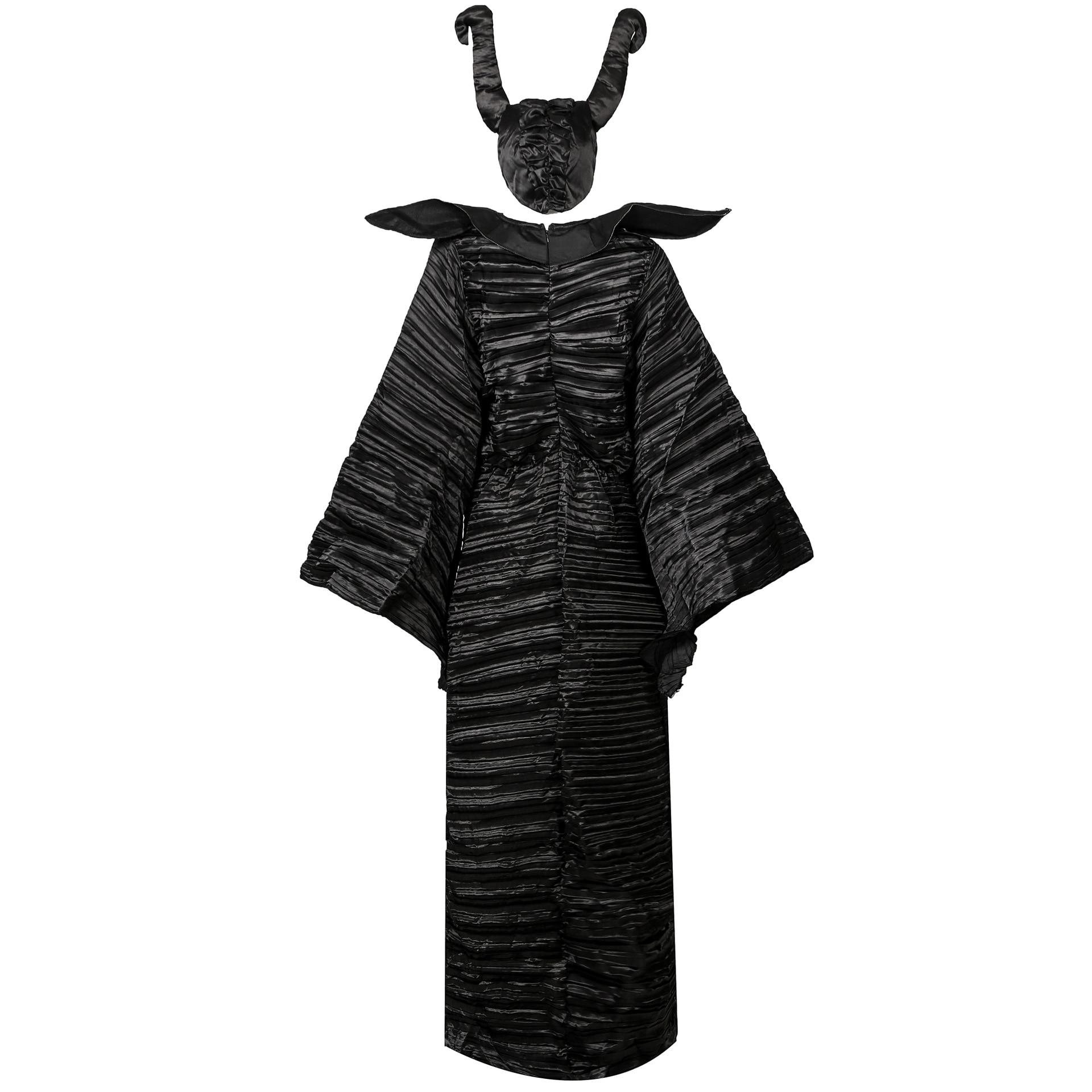 Maleficent Costume Adult Halloween Fancy Dress