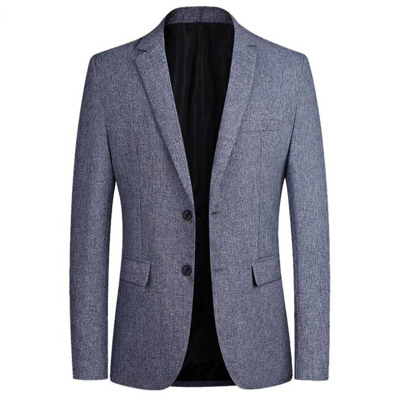 2019 New Men's Jacket Suit Solid Color Jacket Men's Jacket Fashion Men's Casual Jacket Men