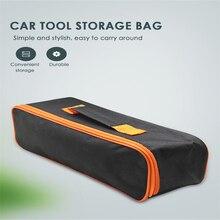 Acessórios do carro interior multifuncional ferramenta de reparo do carro de armazenamento do carro do automóvel saco de mão assento de carro organizador tronco tslm2