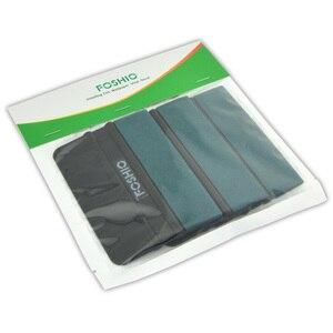 Image 5 - FOSHIO 3/6pcs גלישת מגב עבור סרט ניקוי סיבי פחמן מגרד מדבקת מסיר חלון גוון זכוכית ויניל מוליך כלים