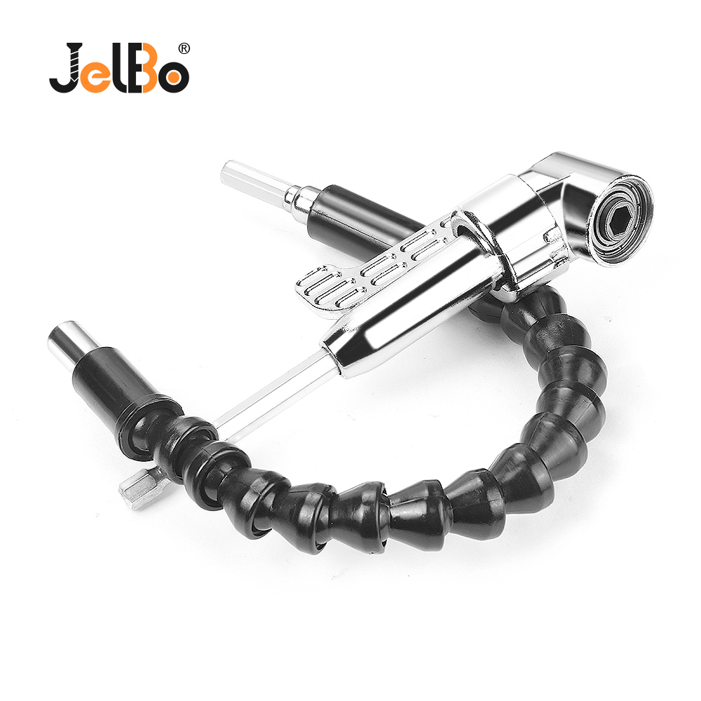 JelBo Flexible Shaft Bits Extention Screwdriver Bit Holder Wrench Socket Holder Adapter Connect Link Tools Indexable Drill Bit
