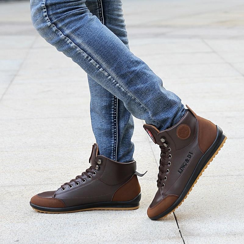Newbeads botas de couro de alta qualidade