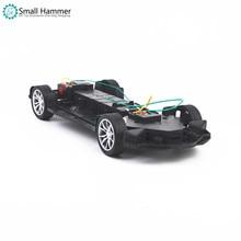 RC спортивный автомобиль шасси гоночный Дрифт умный робот Игрушечная машина комплект шасси рулевого автомобиля