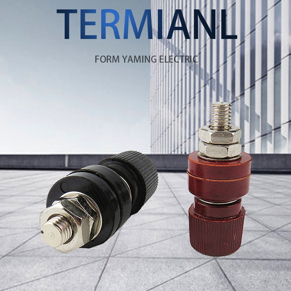 US $4.36 3% OFF|P157 2pcs/lot M8 555 copper terminal connector Red/Black on electrical terminals, wire terminals, ignition terminals, oil terminals, fuse terminals, solenoid terminals, thermostat terminals, computer terminals, cable terminals, high temperature crimp terminals, alternator terminals, generator terminals, solderless terminals, grounding terminals,