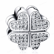 925 Sterling Silver Clover…