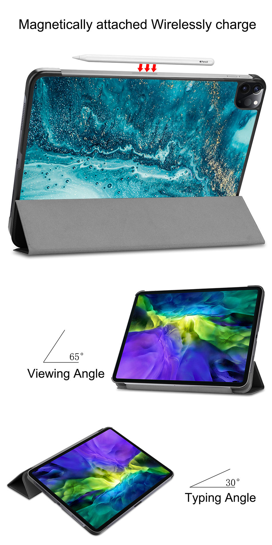 Case Generation 2nd 11 Stand PU funda Tablet Flip 2020 MTT Smart For Pro iPad Leather