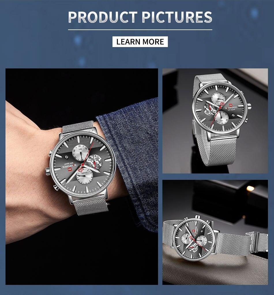 Moda Relógios dos homens Impermeável Sport Chronograph