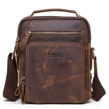 GROJITOO The first layer of  leather material,MINIMALIST Classic craft from the vika brand,Soft touch,Cortex tender