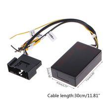 Car Backup Camera Rearview RGB To AV Converter Adapter Box New
