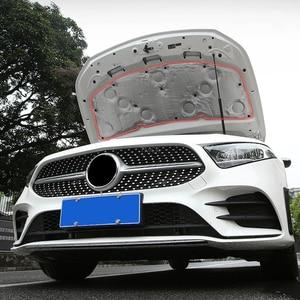 Image 4 - Capot insonorisé en coton isolant pour Mercedes Benz classe A W177, A180, A200, A220, A250, accessoires de voiture, 19 20 +