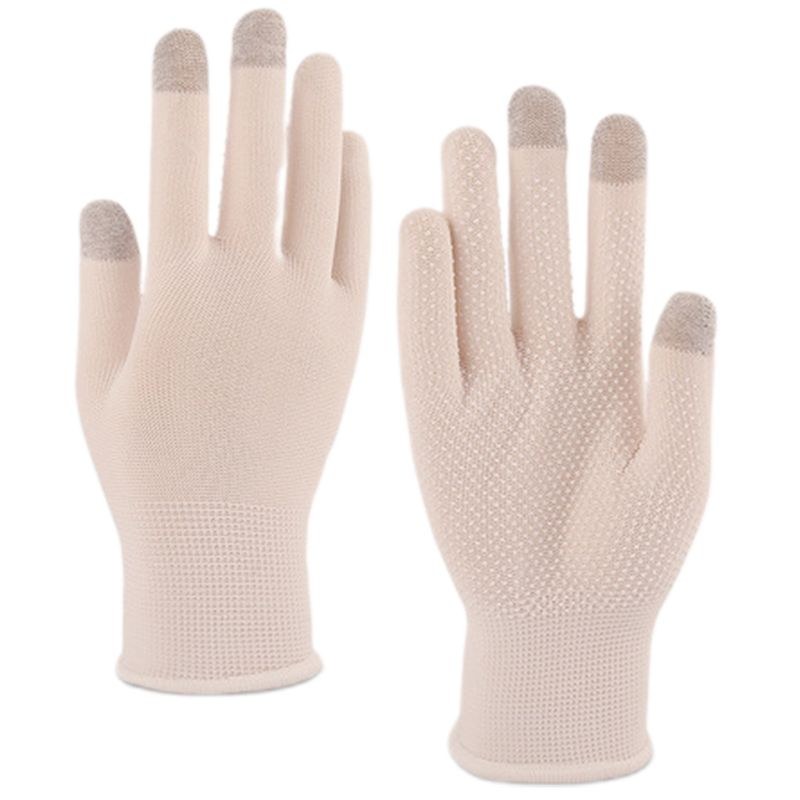 Unisex Summer Touchscreen Driving Gloves UV Protection Cycling Anti-Slip Mittens LX9E