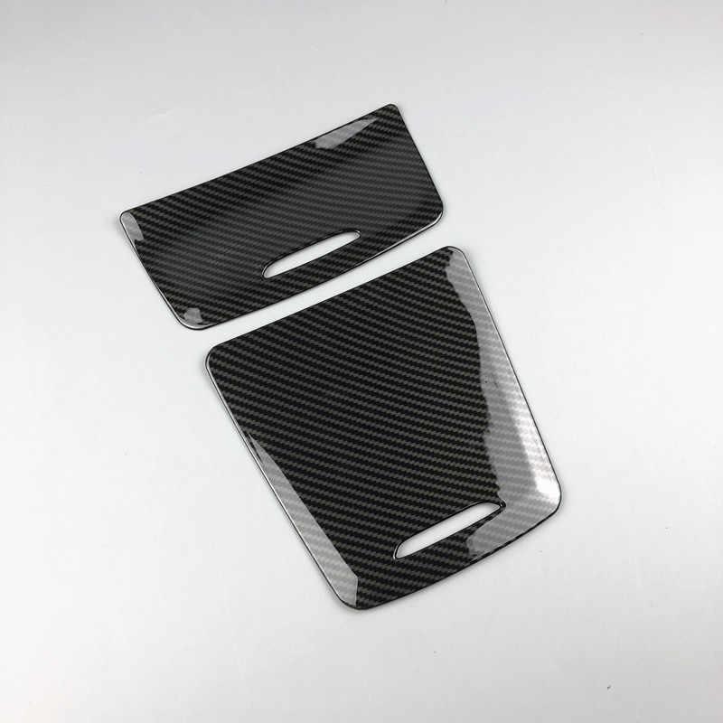 Sợi Carbon Màu Sắc Xe Điều Khiển Trung Tâm Lưu Trữ Hộp Bảng Trang Trí Cho Xe Mercedes Benz Cla GLA Một Lớp W117 W176 A180 2014-2017