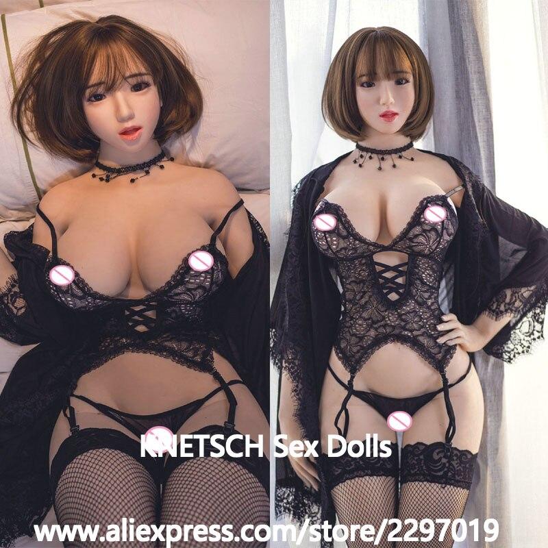KNETSCH 170cm Real Silicone Sex Dolls Realistic Big Breast Oral Vagina Anus Sex Dolls For Men Masturbation Sex Toys Love Dolls