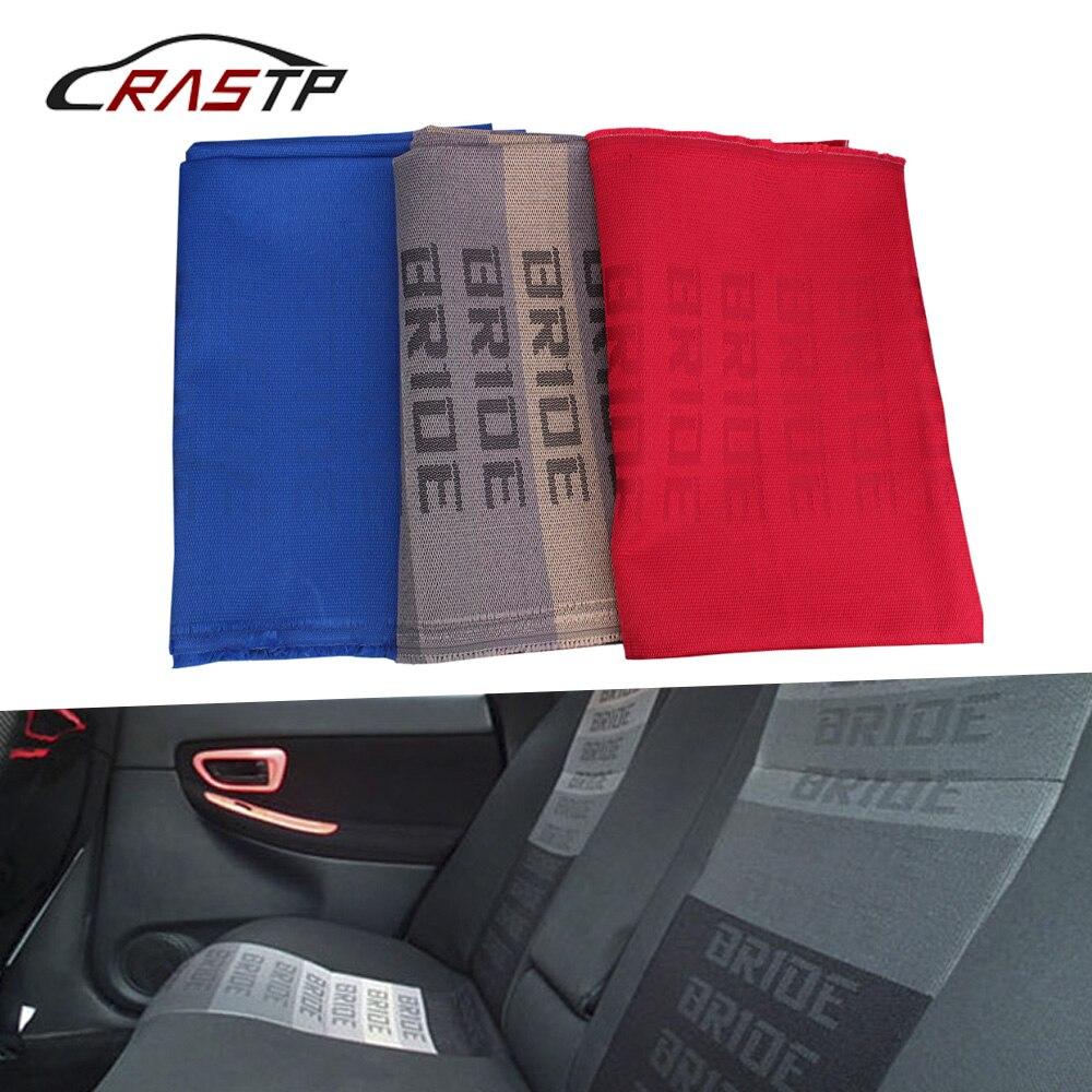 RASTP-100CM x160CM JDM Невеста гоночный автомобиль сиденья ткань невесты ткань Авто ткань внутренний аксессуар (1 шт. = 1 м * 1,6 м) RS-BAG041