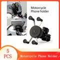 2020 Universal Motorrad Motorrad Fahrrad Motocross GPS Telefon Halter Halterung Clamp Motorrad Telefon Halter Motorrad zubehör
