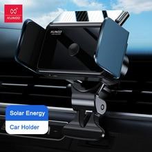 Universele Auto Houder Voor Iphone Xiaomi Samsung, xundd Auto Luchtuitlaat Mount Smart Auto Mobiele Telefoon Houder Ondersteuning Zonne energie Opladen