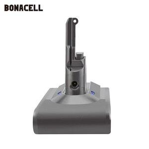 Image 3 - Bonacell V8 4000mAh 21.6 فولت بطارية ل دايسون V8 بطارية المطلق V8 الحيوان ليثيوم أيون SV10 مكنسة كهربائية بطارية قابلة للشحن L70